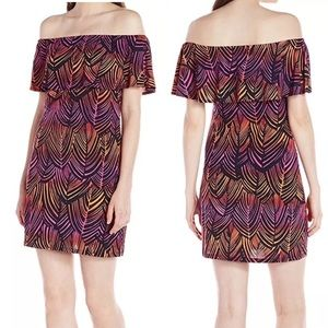 Trina Turk Dress Size Small Off Shoulder New NWT